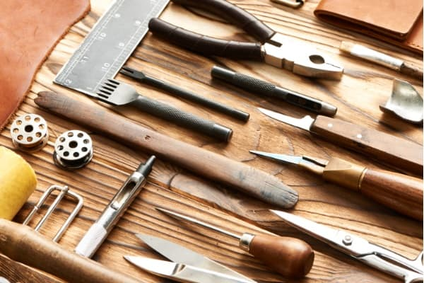 Pick All The Tools for bow making